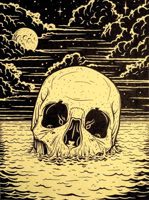 skull. | under our skin | Pinterest