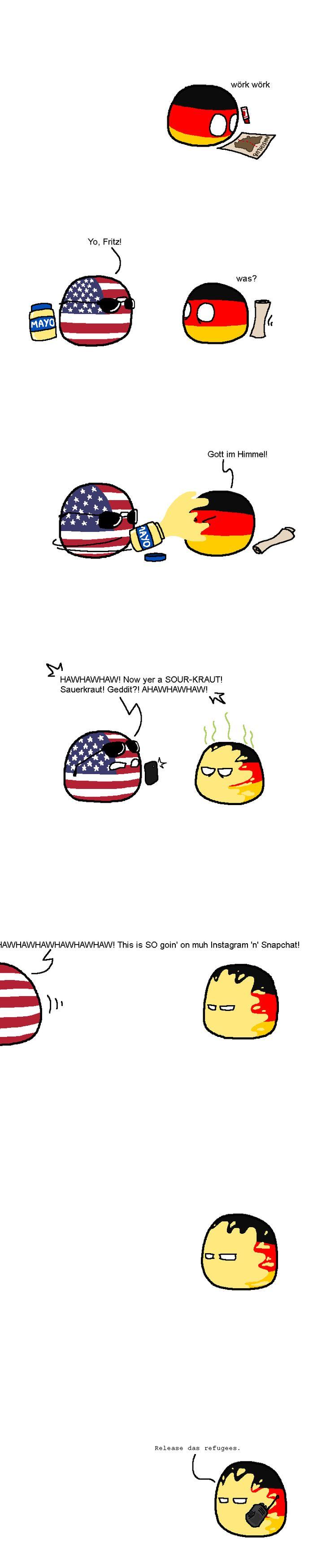 Release das refugees #countryballs #germanball #muricaball ,Fritz' OMG LMAO HAHA XD Gnz ehrlich als ob alle Fritz heißen würden. MAN FRITZCHEN HAT JEDEN GEGETTET FRÜHER XD