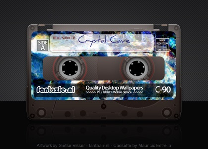 Cassette Crystal Caves