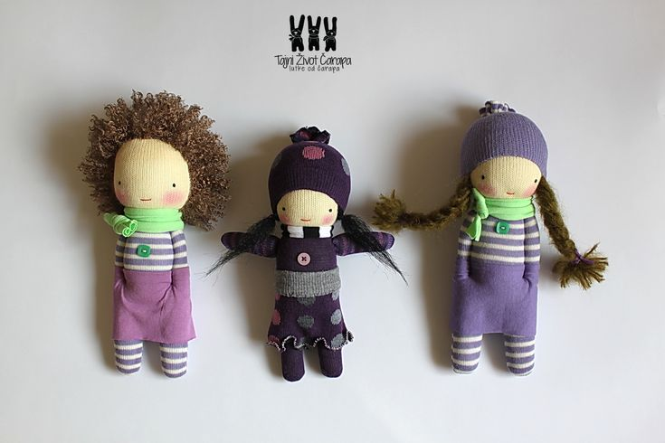 Donda sock dolls