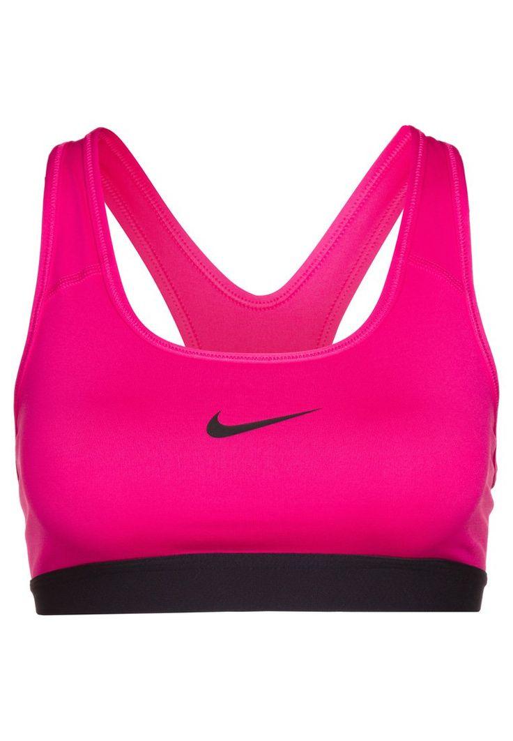 Nike Performance PRO CLASSIC - Soutien-gorge de sport - vivid pink/black - ZALANDO.FR