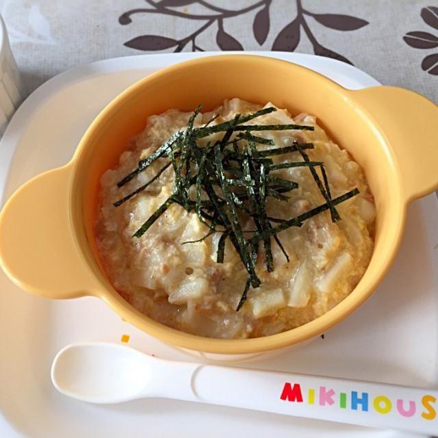 大好物!納豆親子うどん。 納豆と卵と鶏ひき肉入り。 おやつに 粉ミルクで作ったプリンです。 - 7件のもぐもぐ - 離乳食☆お昼ご飯 by seikomito1JGs