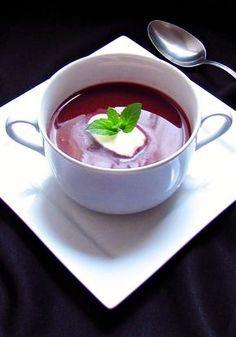 Házias konyha: Vörösboros-csokoládés málnakrémleves