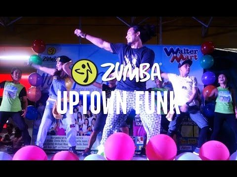 Uptown Funk | Zumba® Fitness with ZES Prince Paltu-ob | Live Love Party - YouTube