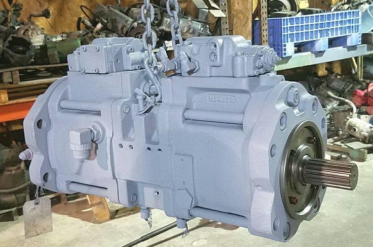 Case Excavator 9030 #E-153584A1 Hydrostatic Main Pump Repair