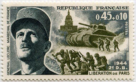 France 1969 - General Leclerc de Hauteclocque