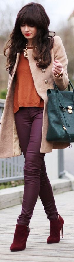 Time to wear our autumn colors. ::M::