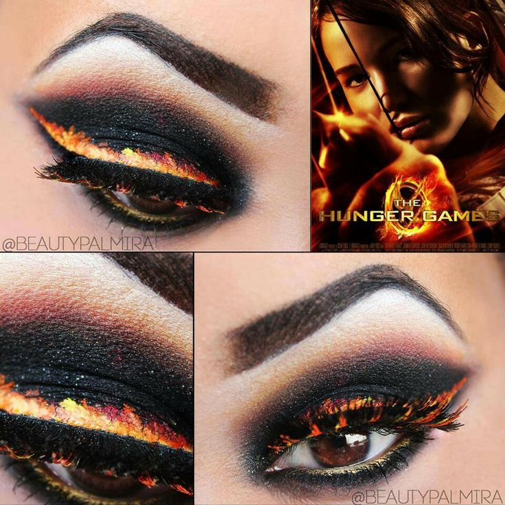 The Hunger Games/Catching Fire eye makeup, that is just Awesome!