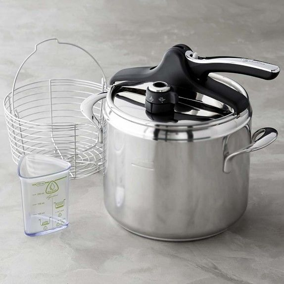 See Gallery - Lagostina Pressure Cooker with Steamer Basket
