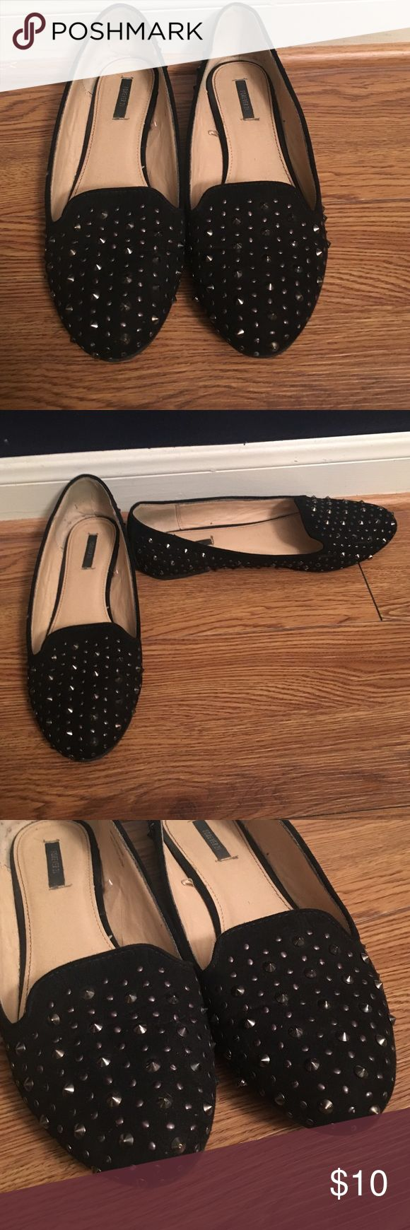 Studded loafers Super comfortable loafers with gold and silver studs Forever 21 Shoes Flats & Loafers