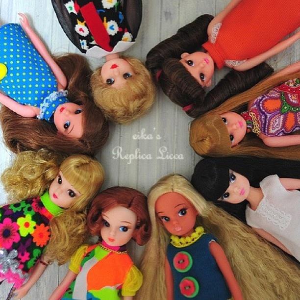 #replica #licca girls group - @eikamomo27- #webstagram