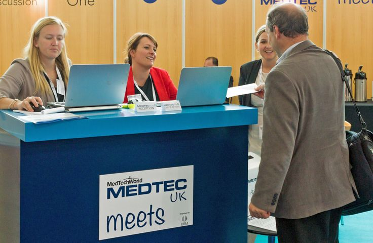 #medtecmeets at #medtecuk - matchmaking meetings for our exhibitors and visitors