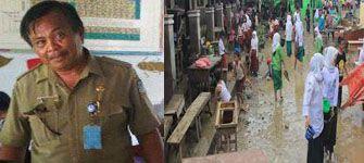 Pasca Banjir, SMAN 3 Manado Gelar Aksi Bersih di Rumah Korban Banjir