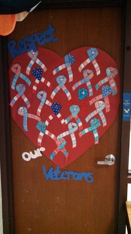 Veteran S Day Classroom Door Veterans Day Activities