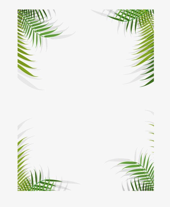 As Plantas Plantas Tropicais Moldura Lace Imagem Png E Psd Para Download Gratuito Tropical Frames Plant Vector Plant Drawing