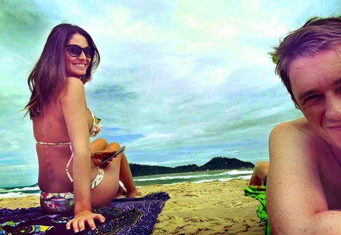 PIX: Grand Masti actress Bruna Abdullah's fun Brazil holiday - Rediff.com movies