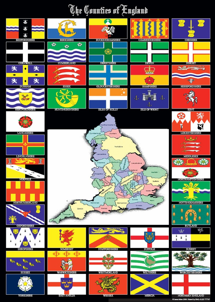 English County Flags