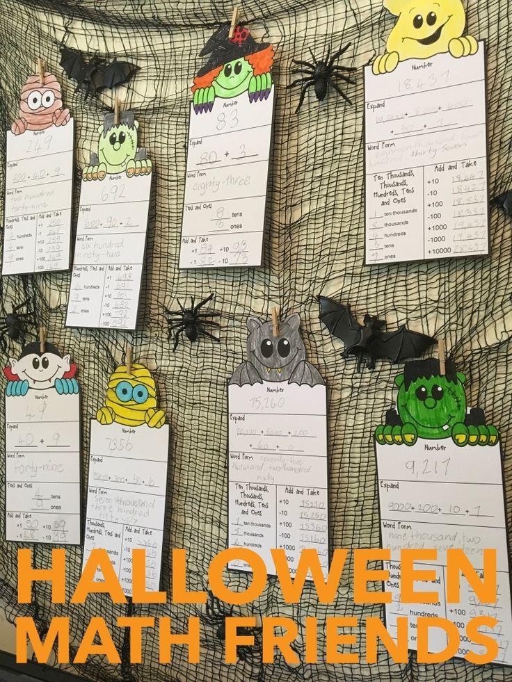 5935 best halloween math ideas images on pinterest halloween activities halloween math and. Black Bedroom Furniture Sets. Home Design Ideas