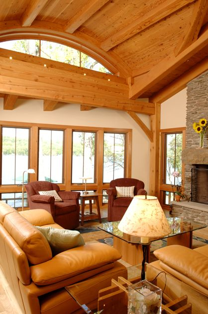 61 Best Timber Frame Great Rooms Images On Pinterest