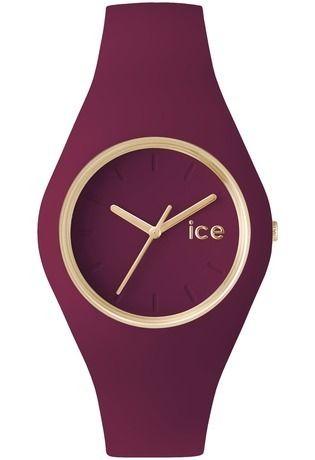 Si belle ne bordeaux ! Je l'adore ! Montre ICE Glam Forest - Anemone - Unisex ICE.GL.ANE.U.S. - Ice-Watch