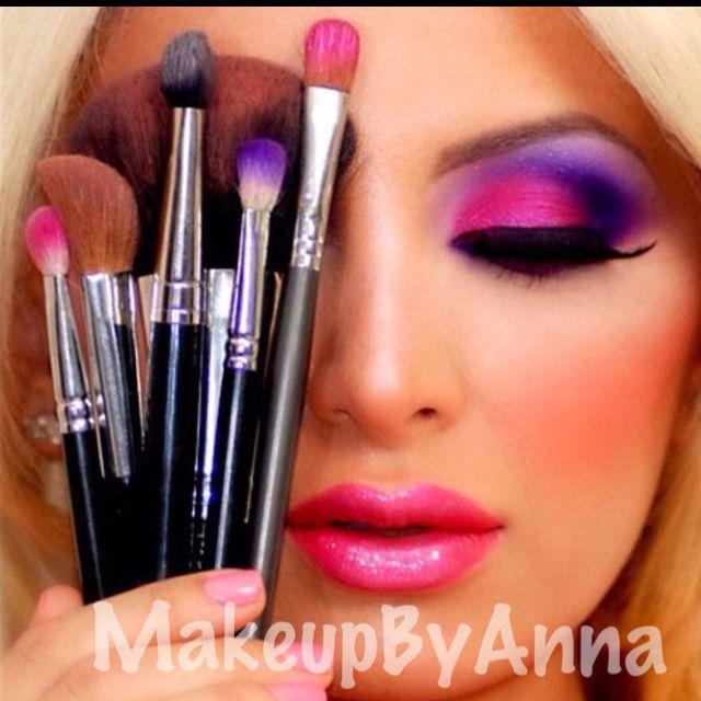 .: Beauty Hair Makeup, Face, Ideas, Make Up, Eye Makeup, Hair Makeup Nails, Makeup Beauty, Barbie, Eyes