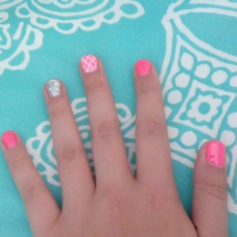 Getting my nails done