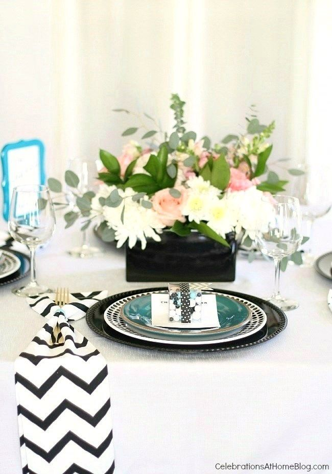 girls get together table setting
