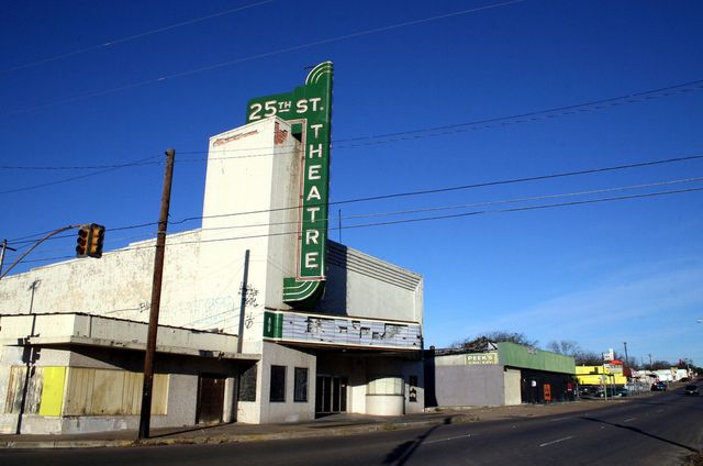 25th Street Theatre, Waco, TX.  So loved going to movies here as a child.  Looks very sad now.