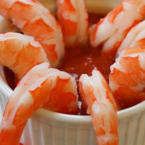 Kalyn's Kitchen®: Shrimp Cocktail Recipe with Low-Sugar Cocktail Sauce  (Diet-friendly Superbowl Party food!)