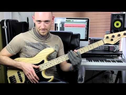 ▶ Slap Bass Lesson - Beginner/Intermediate - with Scott Devine (L#74) - YouTube