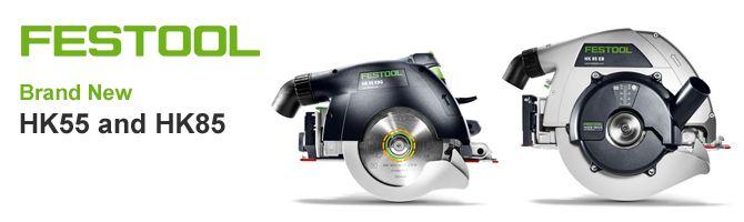 New Festool HK55 and HK85 circular saws