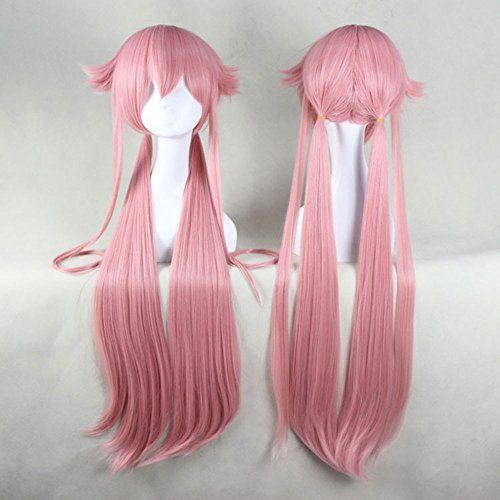 Free Hair Cap + Already Styled Murata Tomosa Mirai Nikki Gasai Yuno Cosplay Wig Anangelcoser58 http://www.amazon.com/dp/B00JJJG9QM/ref=cm_sw_r_pi_dp_bGl.vb1A0M6GC