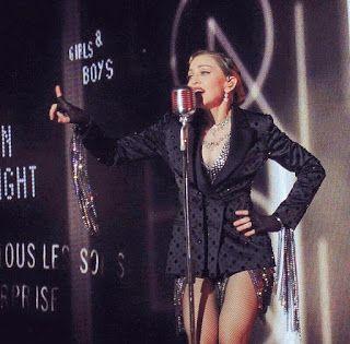 LUPIN4TH MAGAZINE: Manchester, Madonna fischiata dai fan perché in ri...