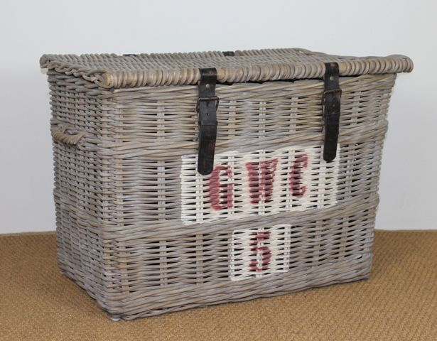 Each basket or trunk in Villa Maison's new French Vineyard Collection has a unique vintage, pre- used look. As if showing signs of a rich history from previous use in the various Vineyards of France