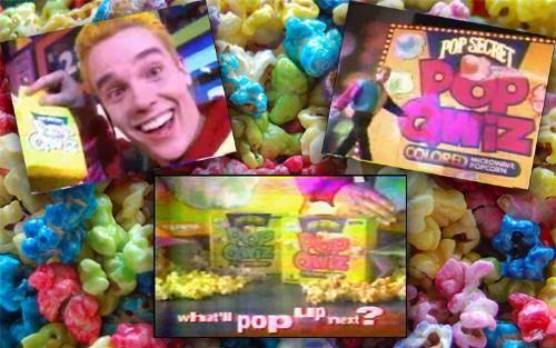 Yes!!! Pop secret colored popcorn