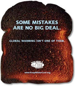 Some mistakes are no big deal. Global warming isn't one of them.  NRDC campaign