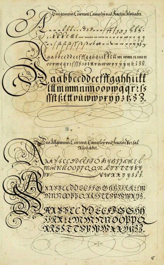 Les meilleures images du tableau calligraphie ronde