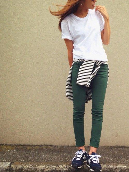 HANESのTシャツ・カットソーを使ったkayoのコーディネートです。WEARはモデル・俳優・ショップスタッフなどの着こなしをチェックできるファッションコーディネートサイトです。