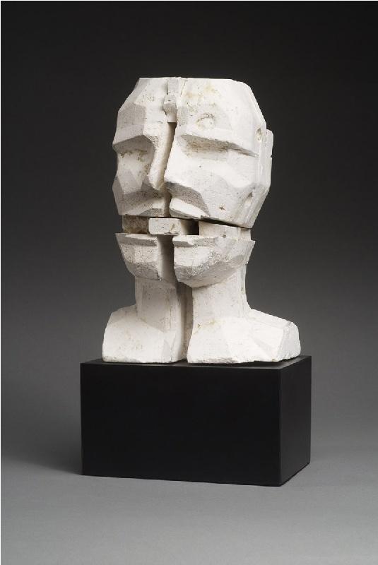 Untitled Head 27 By Sir Eduardo Paolozzi.
