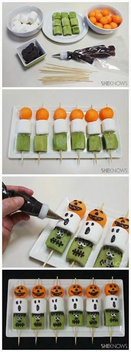 Funny Halloween snack, and very easy