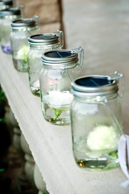solar powered console jars