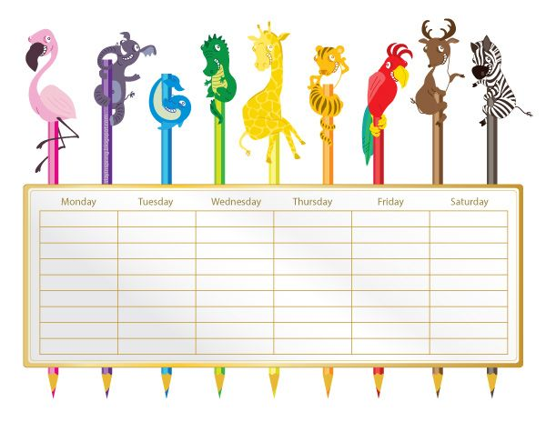 17 best time table images – School Time Table Designs