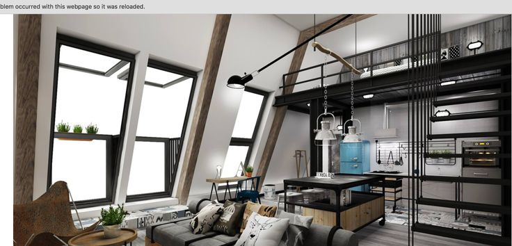 Beau loft au style industriel