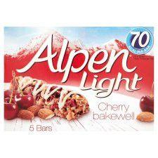 Alpen Light Bar Cherry Bakewell 5X19g