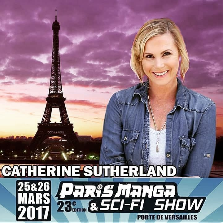 @catherine_sutherland has 2 Conventions in March and this one happens to be in Paris. This will be her first convention held in Paris.  #trentonnjpromoter #catherinesutherland #catherineunleashed #pinkrangerkat #theordermovie #Beatmaticsupports #actorslife #mightymorphinpowerrangers #mmpr #powerrangerszeo #pinkranger #tvactor #television #powerrangers #turbo #mightymorphin #rangers #actresslife #powerrangersturbo #entertainment #actress #2017Unleashed #actor #paris #europe #scifi #comiccon…