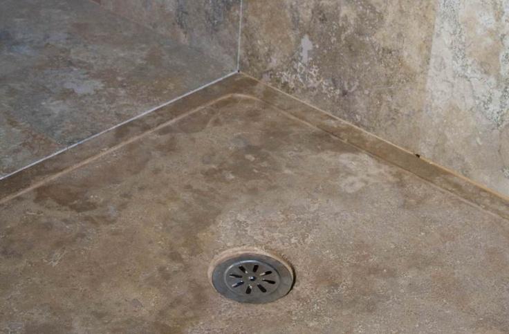 Piatto doccia in Pietra di Rapolano modello EDGE, dettaglio    #piattodoccia #pietredirapolano #bagno