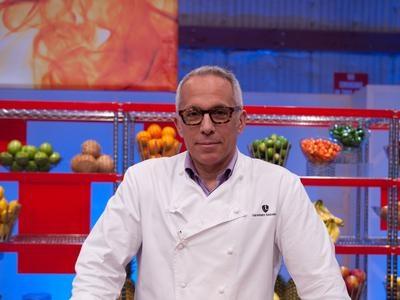 Love watching this guy-Iron Chef Zakarian