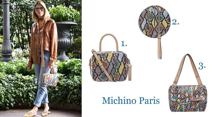The October Bag Crush with the beautiful bags of Michino Paris!!  More on: http://bagatyou.com/october-bag-crush/