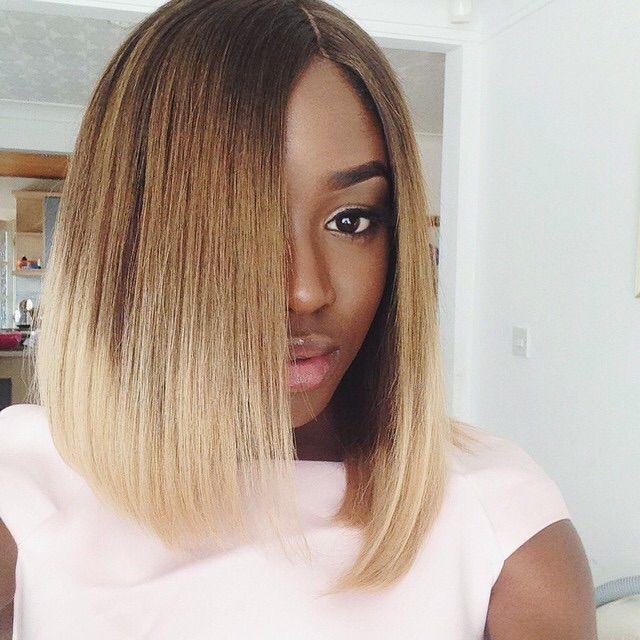Sensational 1000 Images About Black Girl Blonde On Pinterest Short Hairstyles Gunalazisus