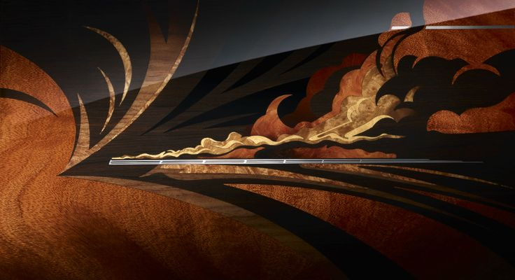 Phantom Pinnacle Travel Collection - Detail Marquetry